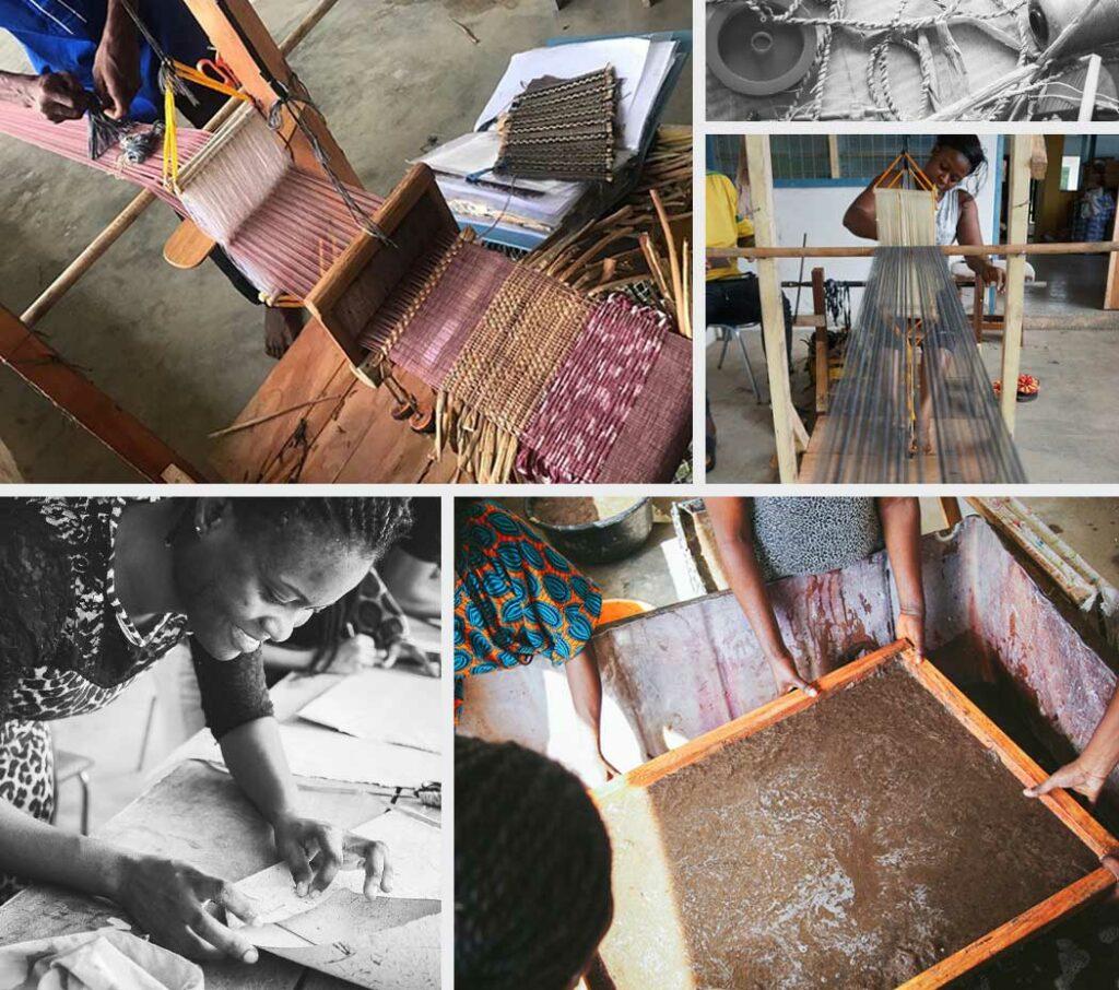 Global Mamas: Water Hyacinth Paper