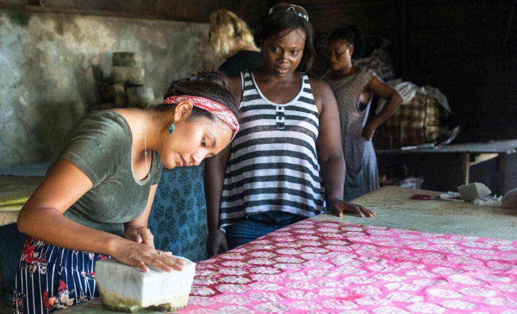 Global Mamas Seamstress Sewing Cotton Face Mask