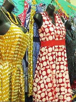 Global Mamas Accra Shopping Fair Trade Dresses