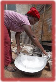 Black soap process