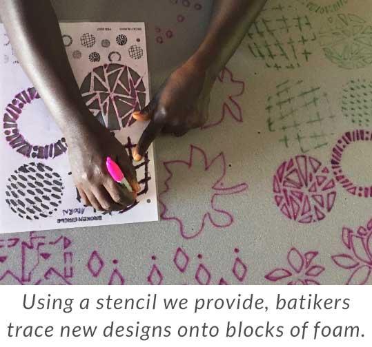 Global Mamas Stamp 1